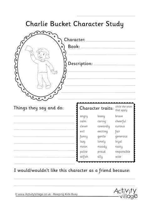 Charlie Bucket Character Study