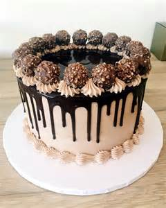 drip cakes chocolate on instagram