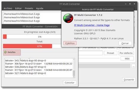 format factory ubuntu proyecto facilitar el software libre en el ecuador