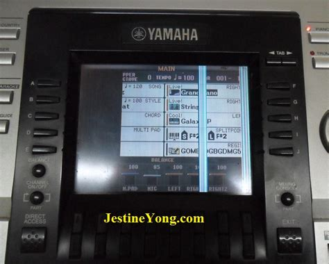 Lcd Keyboard Yamaha Psr S900 where to find the power blinking fault in yamaha psr 3000