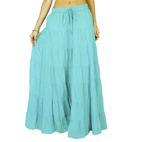 100 cotton wear indian skirt maxi skirt wear