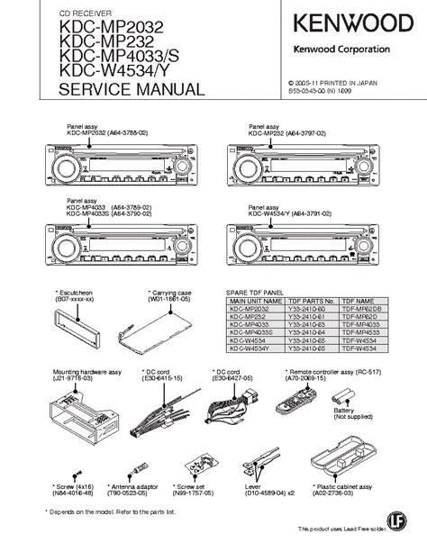 kenwood krc car stereo wiring diagrams lifier wiring