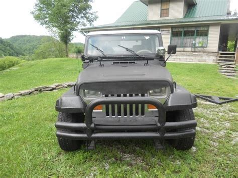 jeep yj custom custom jeep wrangler yj jeep wrangler 1989 for sale