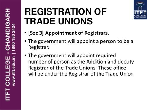 Itft The Trade Union Act 1926