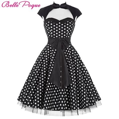 swing kleid polka dots poque summer 50s polka dot retro vintage pinup dress