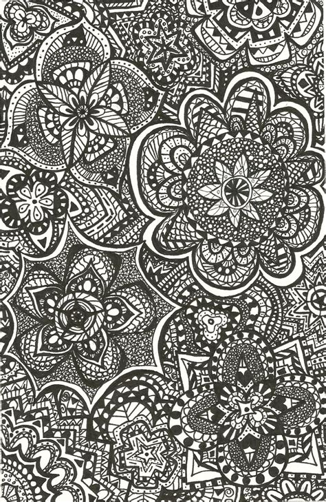 pattern tumblr drawing tumblr backgrounds patterns black and white buscar con