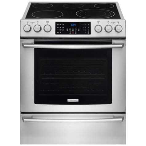 Oven Electrolux Malaysia electrolux iq touch 4 6 cu ft electric range with front