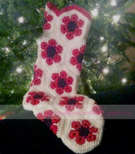 crochet pattern christmas stocking free free crochet christmas stocking pattern