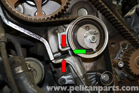 timing belt audi a4 audi a4 b6 timing belt tensioner replacement 1 8t 2002