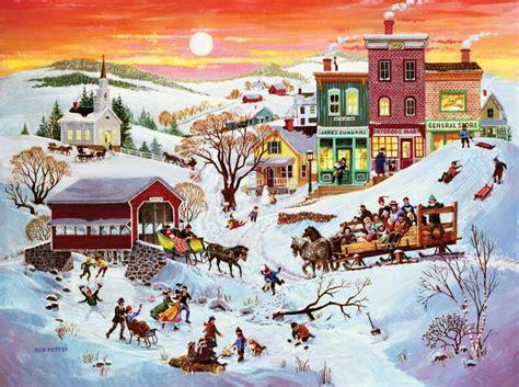 printable winter jigsaw puzzles winter wonderland jigsaw puzzle puzzlewarehouse com