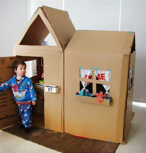 Mainan Diy Stiker Rumah Play House Customization 9 139 12 awesome toys you can make from cardboard boxes cool picks
