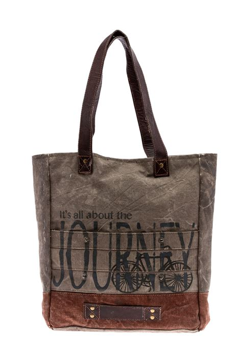 Mona Tote Bag Brown mona b tote bag from new york by