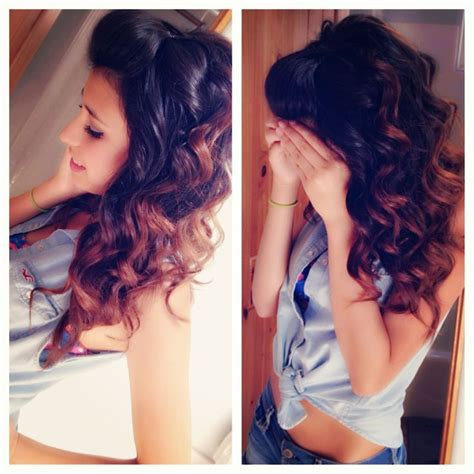cute hairstyles with a wand wand curls hairstyles pinterest