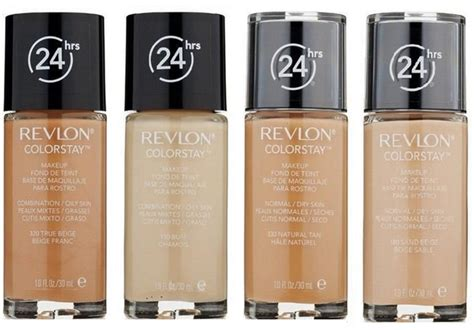 Revlon Colorstay Foundation Skin revlon colorstay foundation exquisite cosmetics
