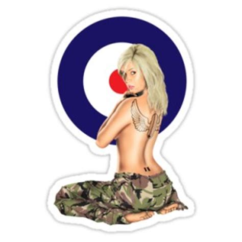 Oldschool Sticker Pin Up by Sticker Pinup Oldschool Army Cocarde