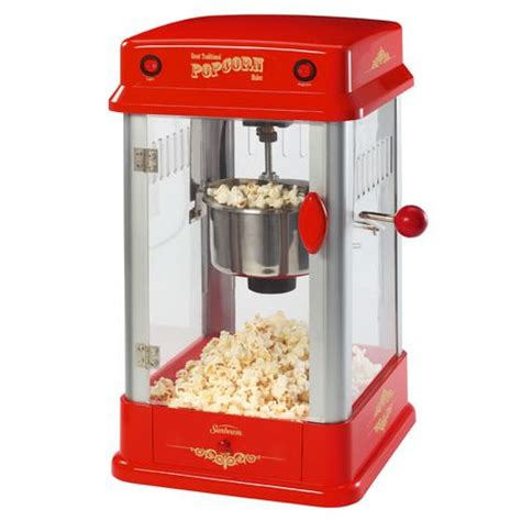 corn maker sunbeam theater style popcorn maker walmart ca