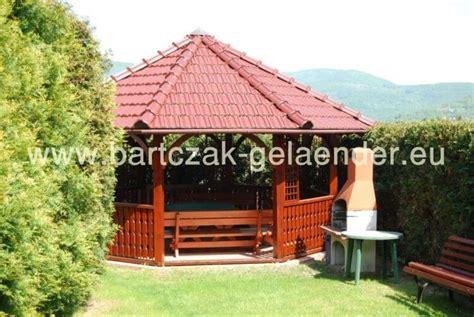 Holzpavillon Günstig by Pavillon Ferienhaus Bartczak Gelaender
