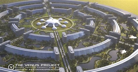 House Layout Generator by The Venus Project Imagines A New Civilisation With No War