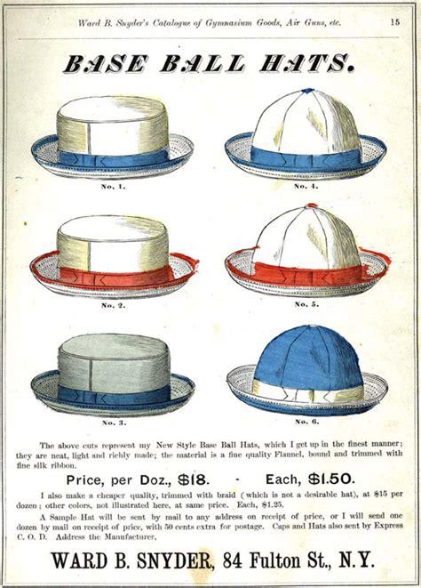 fashion vitamins geneology of the baseball cap