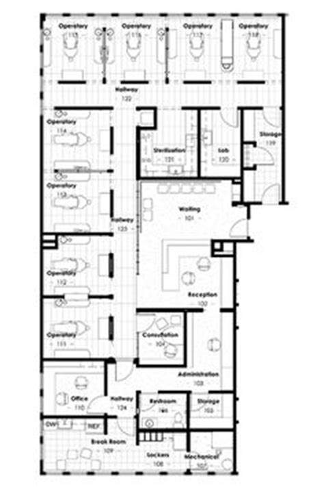 dental office floor plans free 4 small offices floor plans private offices large group