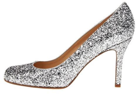 silver sparkly shoes silver sparkly wedding shoes by kate spade