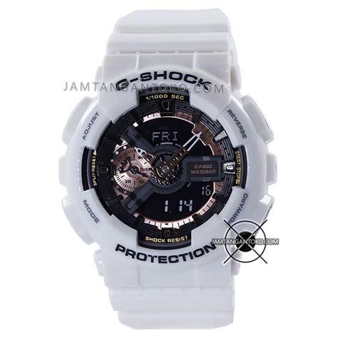 Jam Tangan Gshock Ga110 Ori Bm harga sarap jam tangan g shock ga 110rg 7a white gold