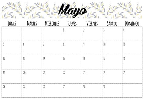 Calendario M Ayo Calendario Mayo 2014 Gallery
