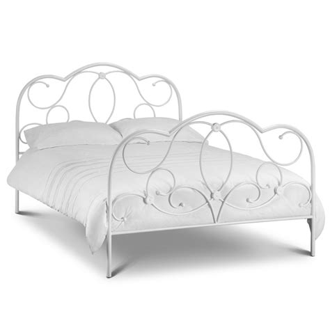 White Wire Bed Frame Home Decorating Pictures White Wire Bed Frame