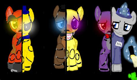 Fnaf 1 Painting By Awesomeponies3 On Deviantart