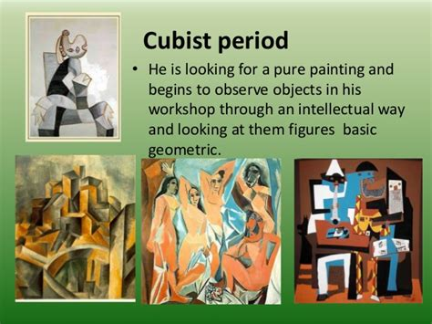picasso paintings ppt pablo ruiz picasso power point level of