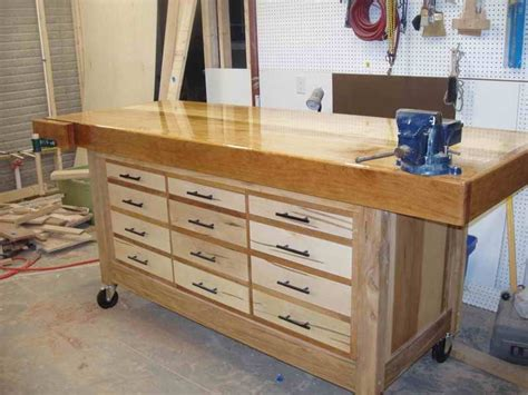 Building Workbench Drawers by Diy Craft Workbench