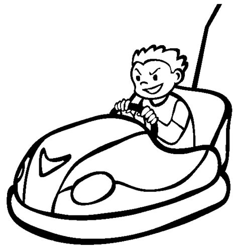 bumper cars coloring pages bumper car coloring pages for dap printable