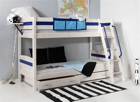 Bedroom Furniture Bunk Beds Bedroom Lively Colorful Boys Room Space Saving Bunk Bed Designs Nutral White Wood Boys Bedroom