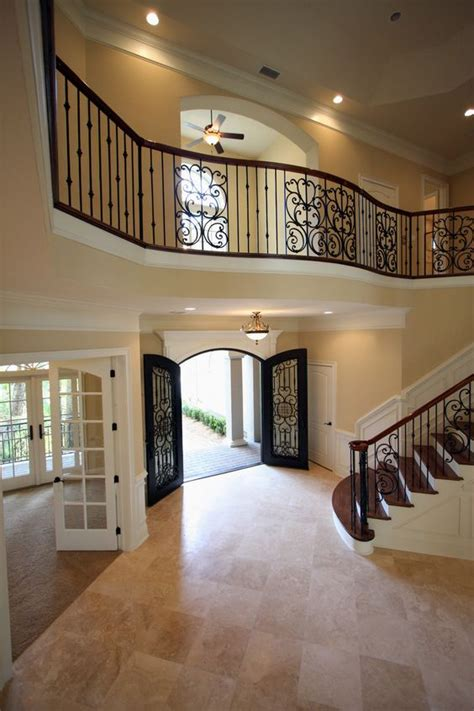 beautiful foyers amazing open foyer with beautiful stair case and balcony