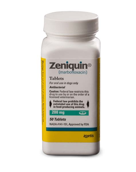 zeniquin for dogs zeniquin marbofloxacin zoetis us