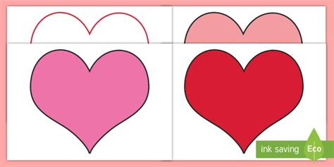 Valentines Day Card Template Ks1 by S Day Editable Template S Day