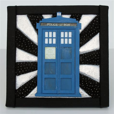 box quot no sew quot wall hanging inspired by doctor who