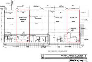 Floor Plan Survey by 11 Founders Boulevard Suites 200 600 Pires
