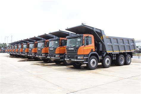 scania india scania india client books 200 more tippers