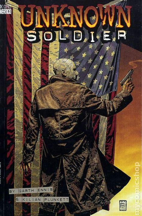 unknown a novel books unknown soldier tpb 1998 dc vertigo 1st edition by garth