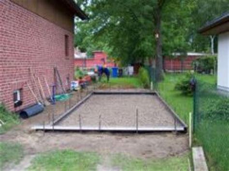 dicke bodenplatte garage selbstbau bodenplatte herstellen