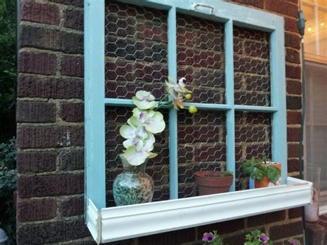 Wire Window Planters by 41 Best Images About Repurposed Windows On