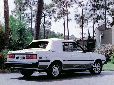 1983 Toyota Corolla Sr5 Hatchback Toyota Corolla Sr5 Convertible Griffith Limited Edition