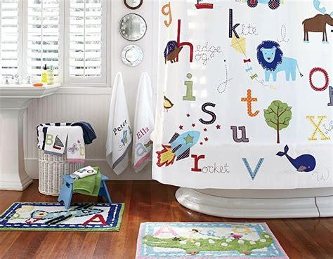 pottery barn kids bathroom ideas abc bathroom pottery barn kids love this bathroom