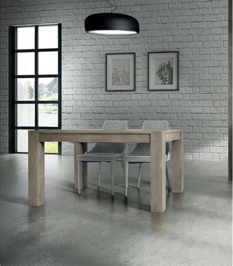 tavoli rovere tavolo rovere patinato allungabile spazio casa