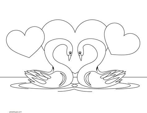 coloring pages de patito dibujos de cisnes para colorear