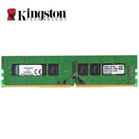 Ram 4gb Ddr4 original kingston ram ddr4 4gb 8gb 16gb 2133 mhz dimm intel ddr memoria desktop pc memory stick