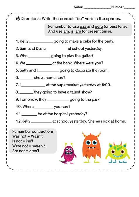 past present future tenses worksheets search results