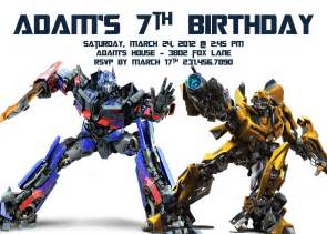 transformer birthday invitations bagvania free printable invitation template