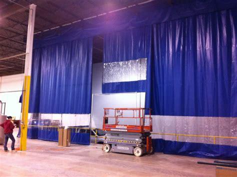 loading dock curtains loading dock curtains warehouse door enclosure systems